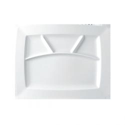 Rosenthal Epoque - Talerz płaski prostokątny 4 dzielony 34/26,5 cm