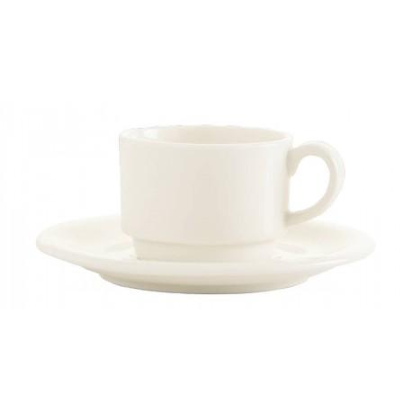 Crema (ecru) - Spodek do filiżanki