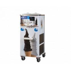 Maszyna do lodów świderków + koncentrat do produkcji lodów