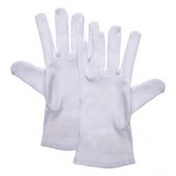 Rękawiczki kelnerskie białe