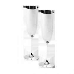Maybach - Kieliszek srebrny do szampana Maybach - 260 ml