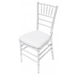 Krzesła Chiavari transparentne