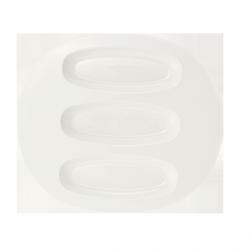 Bufet V&B - Talerz owalny 3 x rawierka – 35x30 cm