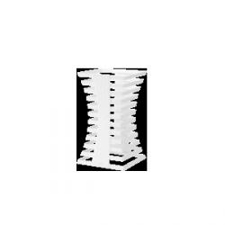 Zieher White średni – 25x25x34 cm