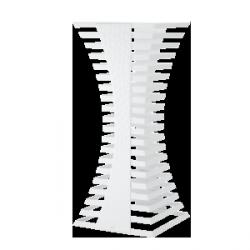 Zieher White duży - 32x32x58 cm