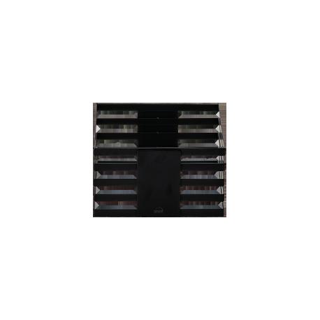 Zieher czarny S – 24x24x13,5 cm