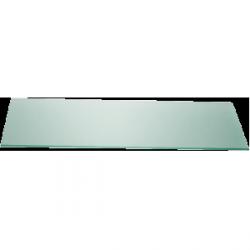 Płyta szklana Zieher prostokątna – 35x80 cm – zielona