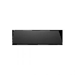 Płyta szklana Zieher kwadratowa – 40x40 cm – czarna