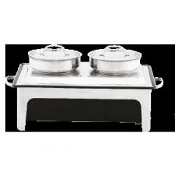 Podgrzewacz elektryczny do zupy Double – 2 x 4 l