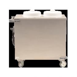 Podgrzewacz do talerzy – 2 x 70 sztuk, talerz o średnicy 24 cm, 1,9-2,2kW/230V