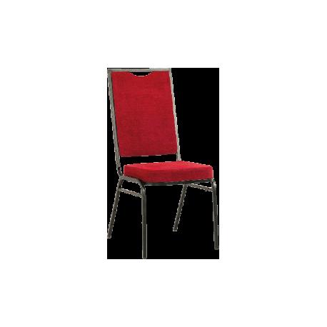 Krzesło VIP kwadratowe - czerwone