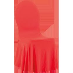 Pokrowiec na krzesło VIP – czerwony