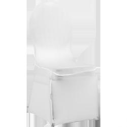 Pokrowiec elastyczny na krzesło VIP – biały