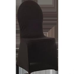 Pokrowiec elastyczny na krzesło VIP – czarny