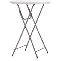 Stół koktajlowy plastikowy 80 x 110 cm
