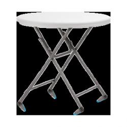 Stół koktajlowy niski plastikowy 80x73 cm