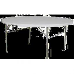 Stół okrągły plastikowy 180 cm
