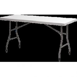 Stół prostokątny plastikowy 150x75 cm