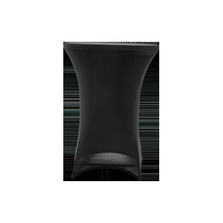 Nakładka elastyczna na stół koktajlowy 80x110 cm – czarna