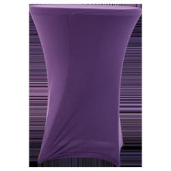 Nakładka elastyczna na stół koktajlowy 80x110 cm – fioletowa