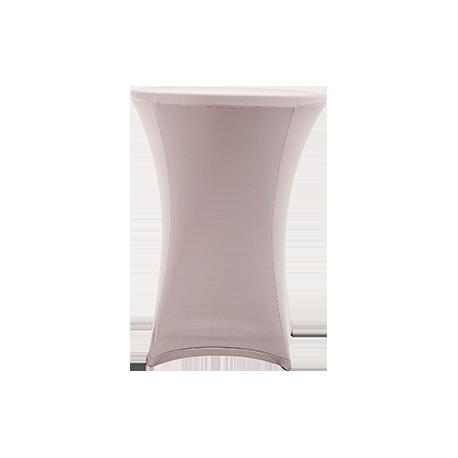 Nakładka elastyczna na stół koktajlowy 80x110 cm – szara