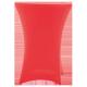 Nakładka elastyczna na stół koktajlowy 80x110 cm – czerwona