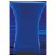 Nakładka elastyczna na stół koktajlowy 80x110 cm – niebieska