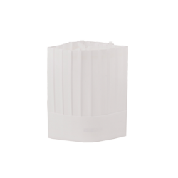 Czapka kucharska jednorazowa – biała