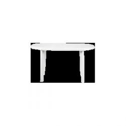Stół ogrodowy plastik biały