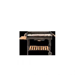Grill węglowy nierozkładany – 100x60 cm